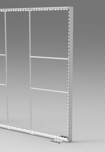 模块化绷布灯箱